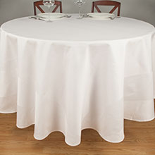 Tablecloth Beauti-Damask Satin Band